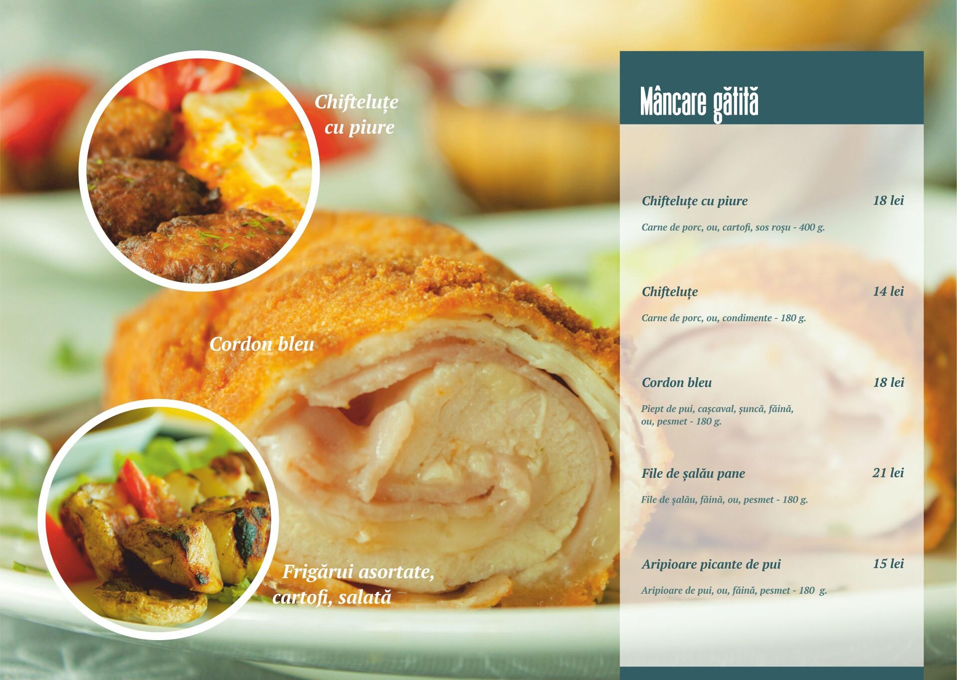 Mâncare gătită - pagina 1